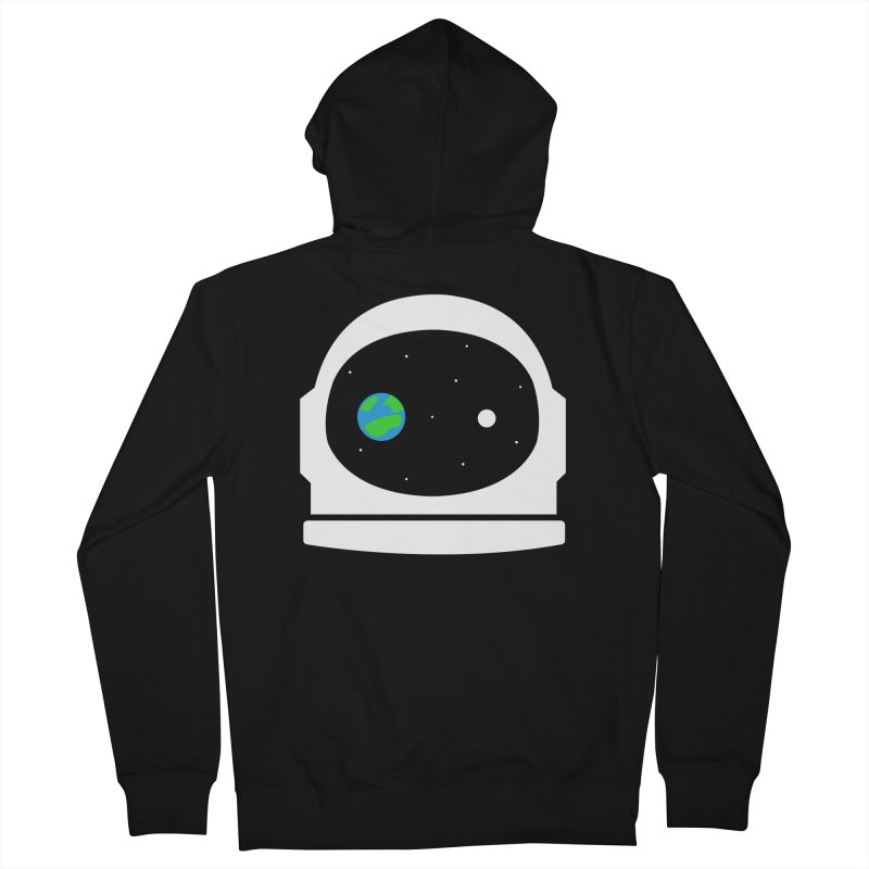 Space Face Men's Zip-Up Hoody by danielstevens's Artist Shop