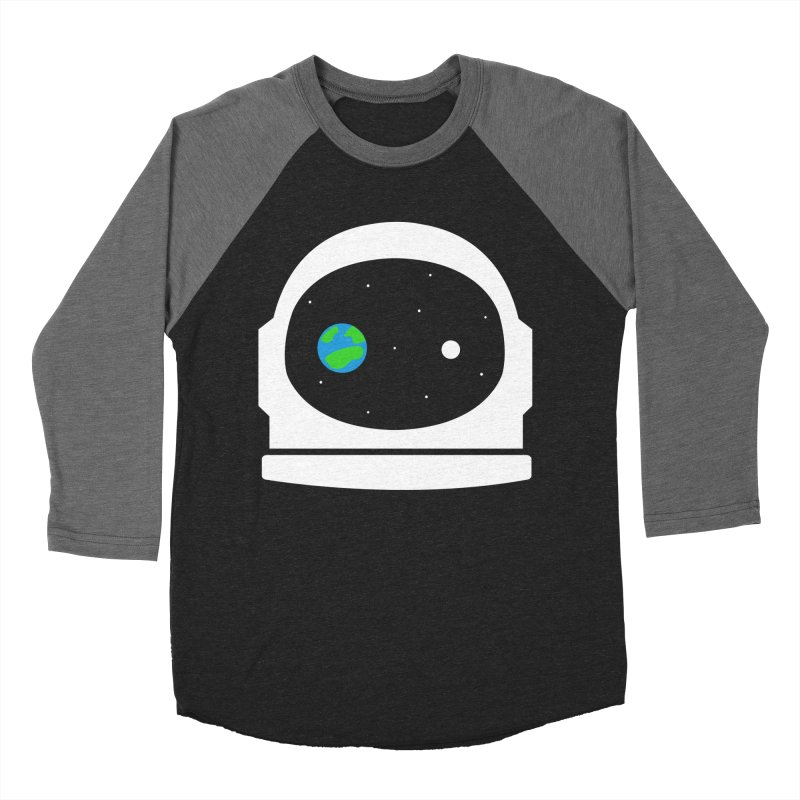 Space Face Men's Baseball Triblend T-Shirt by danielstevens's Artist Shop