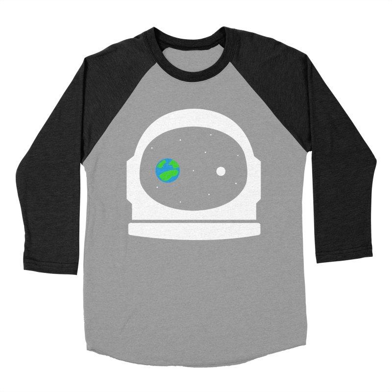 Space Face Men's Baseball Triblend T-Shirt by danielstevens's Artist Shop