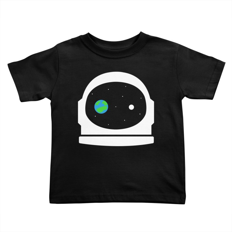 Space Face Kids Toddler T-Shirt by danielstevens's Artist Shop