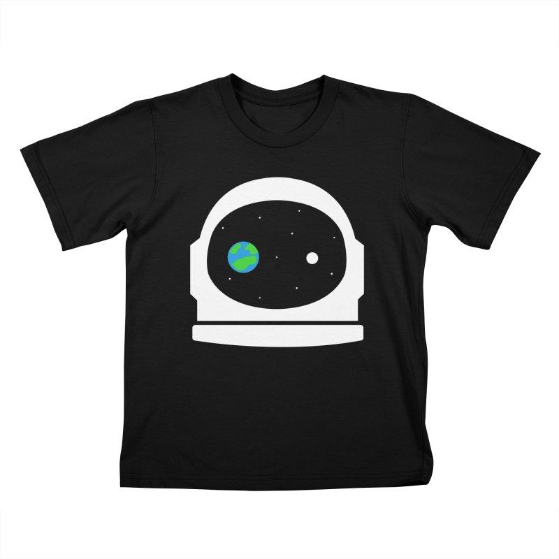 Space Face Kids T-shirt by danielstevens's Artist Shop