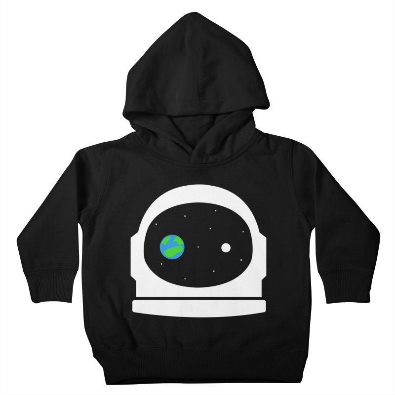 Space Face Kids Toddler Pullover Hoody by danielstevens's Artist Shop