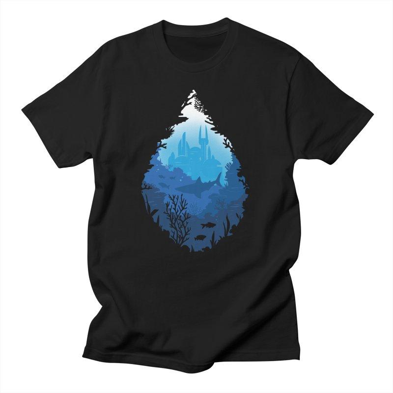 Atlantis Men's T-Shirt by danielstevens's Artist Shop