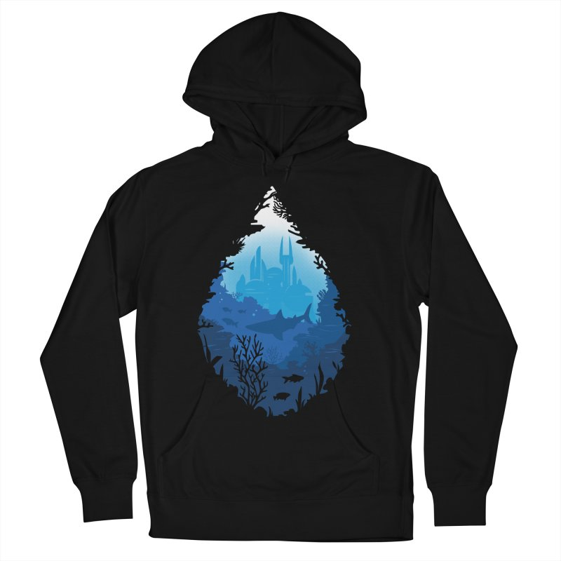 Atlantis Men's Pullover Hoody by danielstevens's Artist Shop