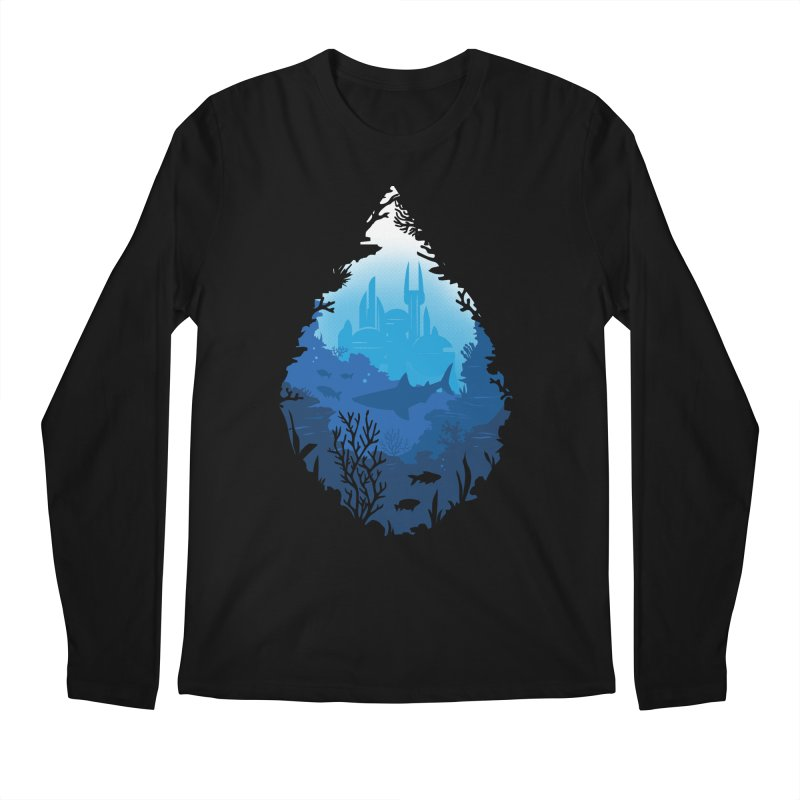 Atlantis Men's Regular Longsleeve T-Shirt by danielstevens's Artist Shop