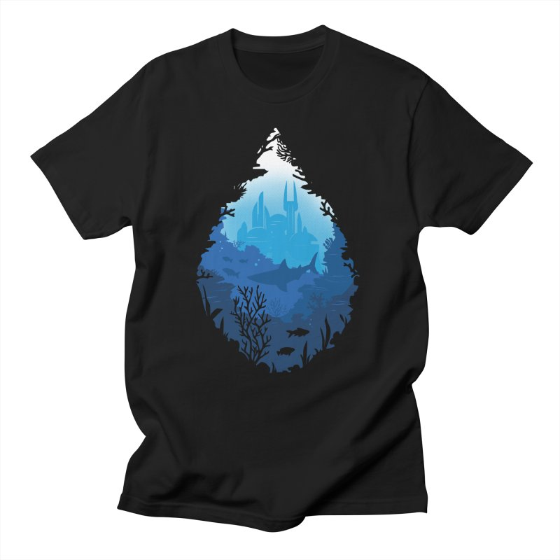 Atlantis Men's T-Shirt by danielstevens's Artist Shop