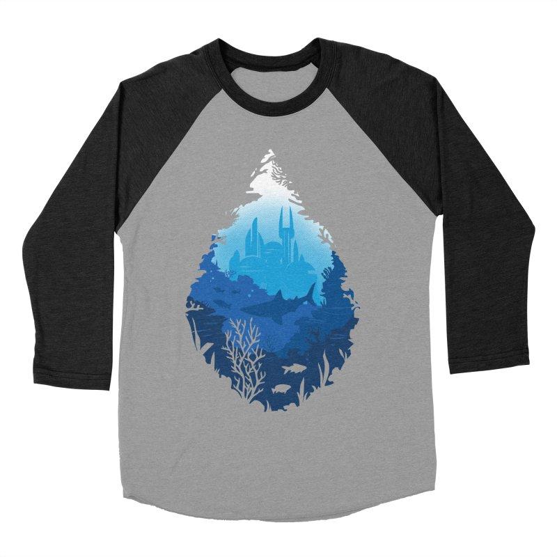 Atlantis Women's Baseball Triblend Longsleeve T-Shirt by danielstevens's Artist Shop