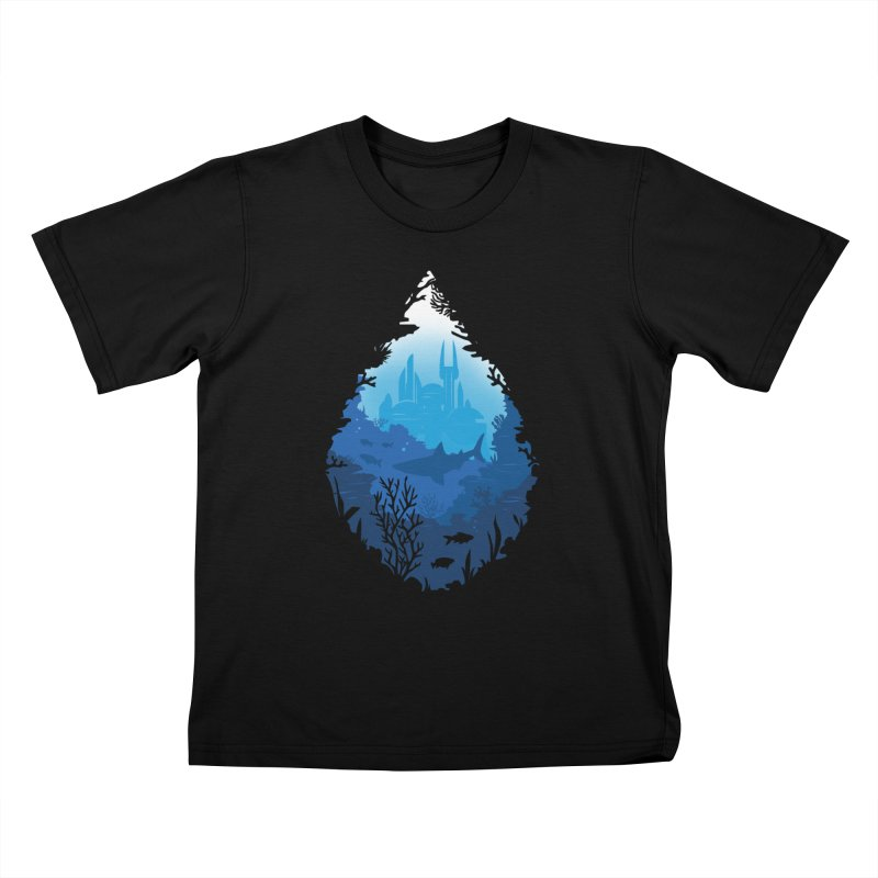 Atlantis Kids T-shirt by danielstevens's Artist Shop
