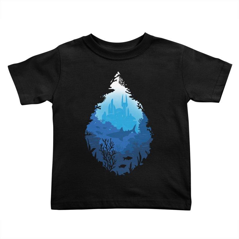 Atlantis Kids Toddler T-Shirt by danielstevens's Artist Shop