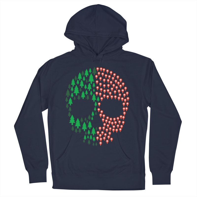 Deforestation Men's Pullover Hoody by danielstevens's Artist Shop