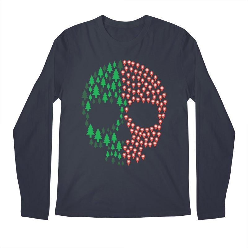 Deforestation Men's Longsleeve T-Shirt by danielstevens's Artist Shop