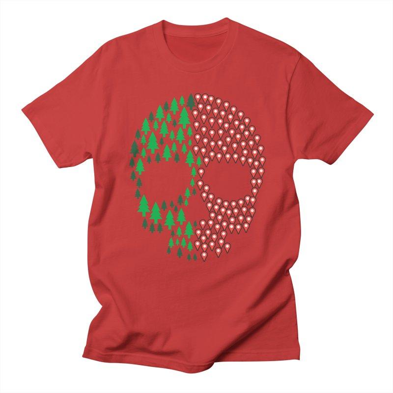Deforestation Men's T-Shirt by Daniel Stevens's Artist Shop