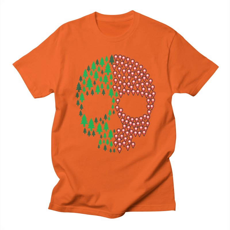 Deforestation Men's T-shirt by danielstevens's Artist Shop