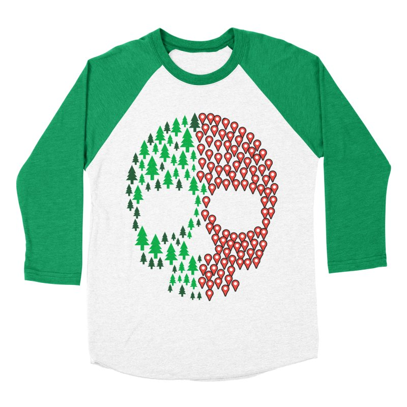 Deforestation Women's Baseball Triblend T-Shirt by danielstevens's Artist Shop