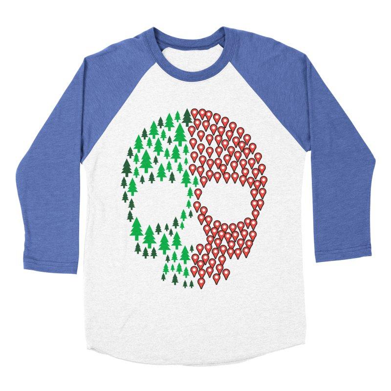 Deforestation Men's Baseball Triblend T-Shirt by danielstevens's Artist Shop