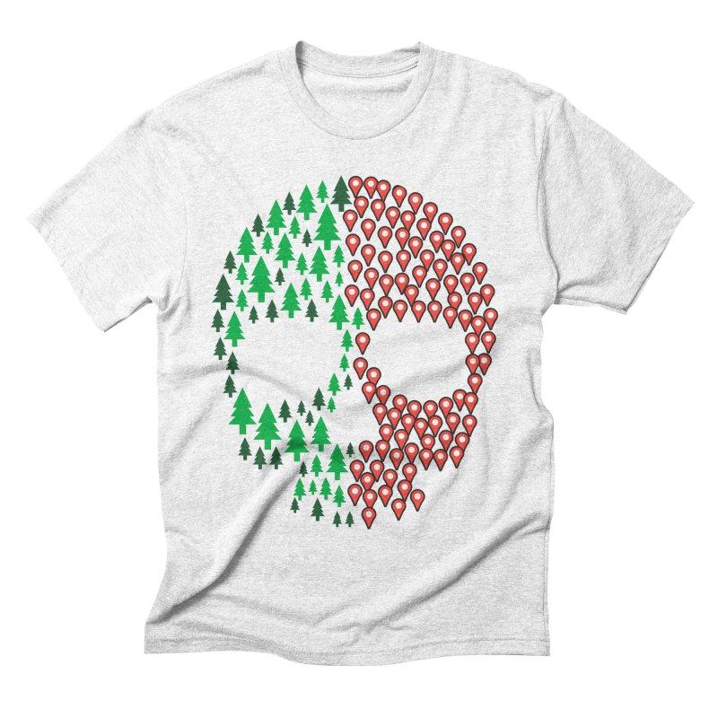Deforestation Men's Triblend T-shirt by danielstevens's Artist Shop