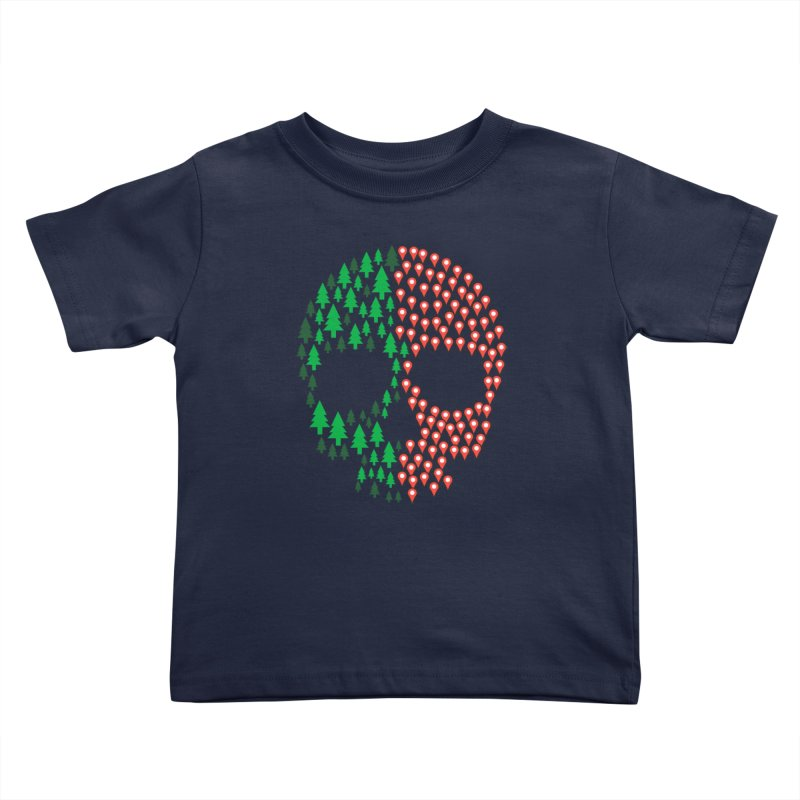 Deforestation Kids Toddler T-Shirt by danielstevens's Artist Shop