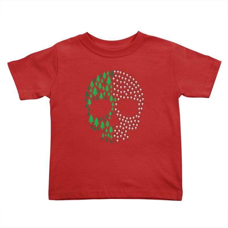 Deforestation Kids Toddler T-Shirt by danielstevens's Artist Shop