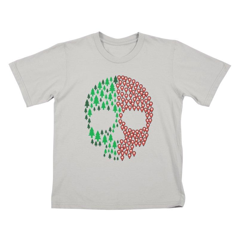 Deforestation Kids T-shirt by danielstevens's Artist Shop