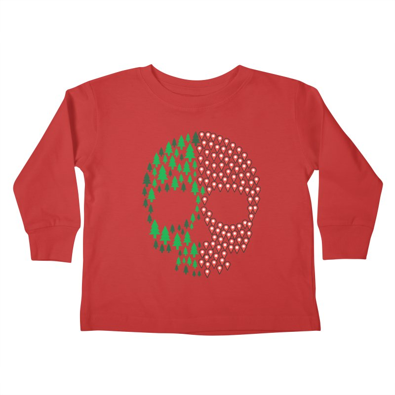 Deforestation Kids Toddler Longsleeve T-Shirt by danielstevens's Artist Shop
