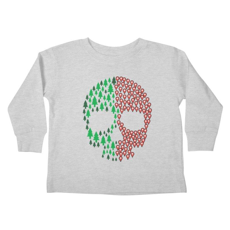 Deforestation Kids Toddler Longsleeve T-Shirt by danielstevens's Artist Shop