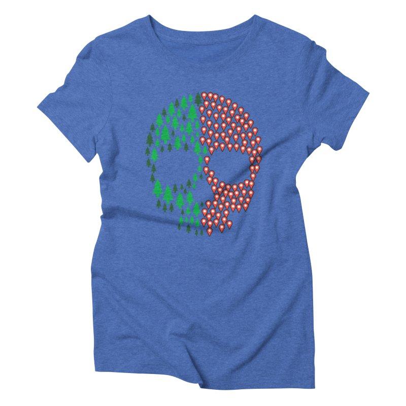 Deforestation Women's Triblend T-shirt by danielstevens's Artist Shop