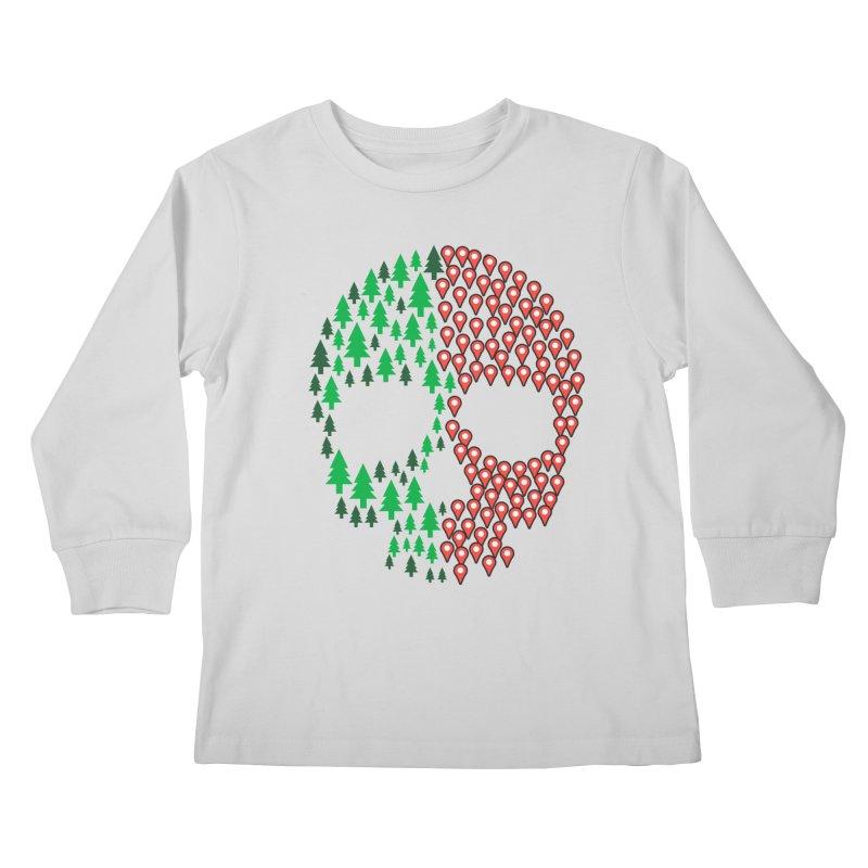 Deforestation Kids Longsleeve T-Shirt by danielstevens's Artist Shop