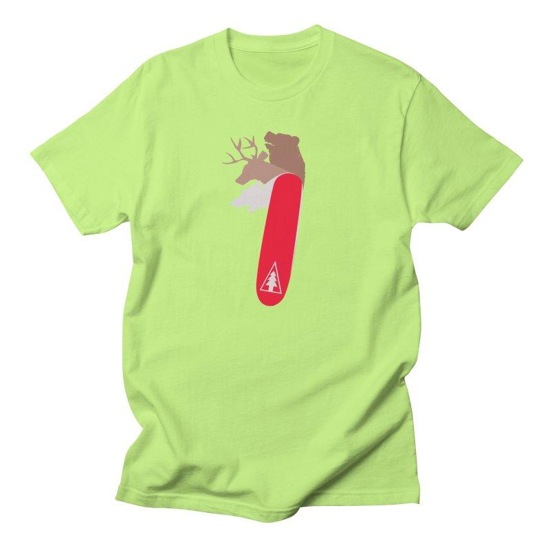 Natures Survival Knife Men's T-shirt by danielstevens's Artist Shop