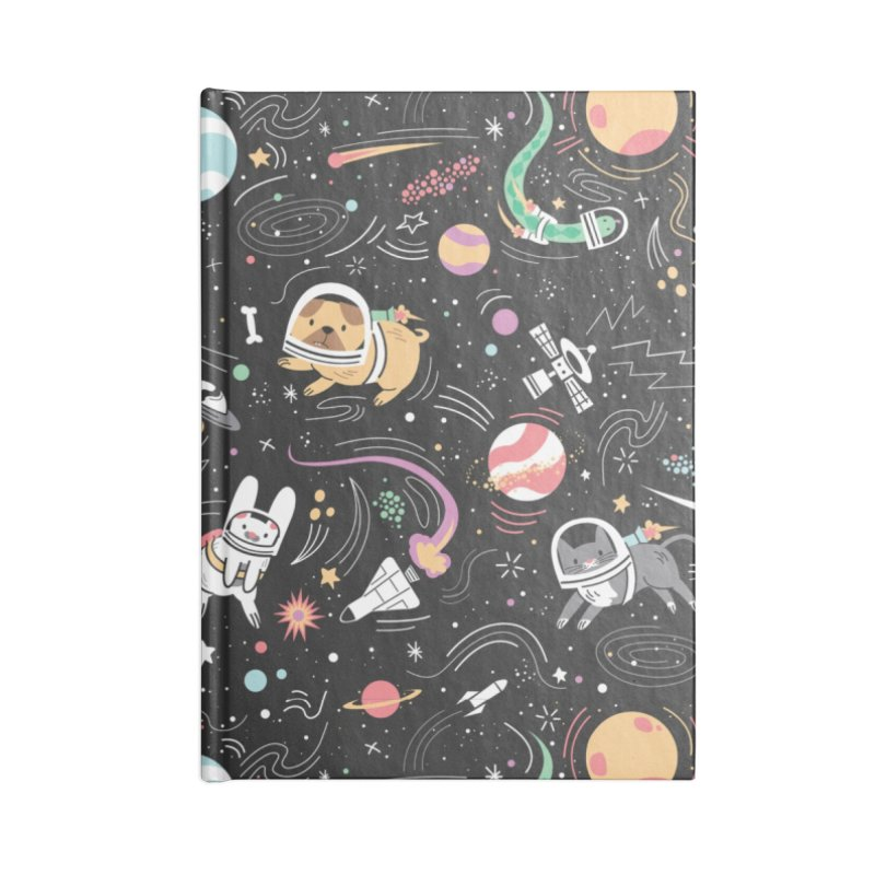Space Pets Accessories Notebook by Daniel Stevens's Artist Shop