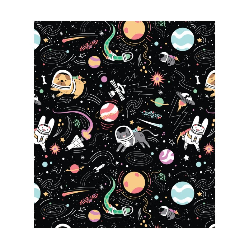 Space Pets Home Rug by Daniel Stevens's Artist Shop