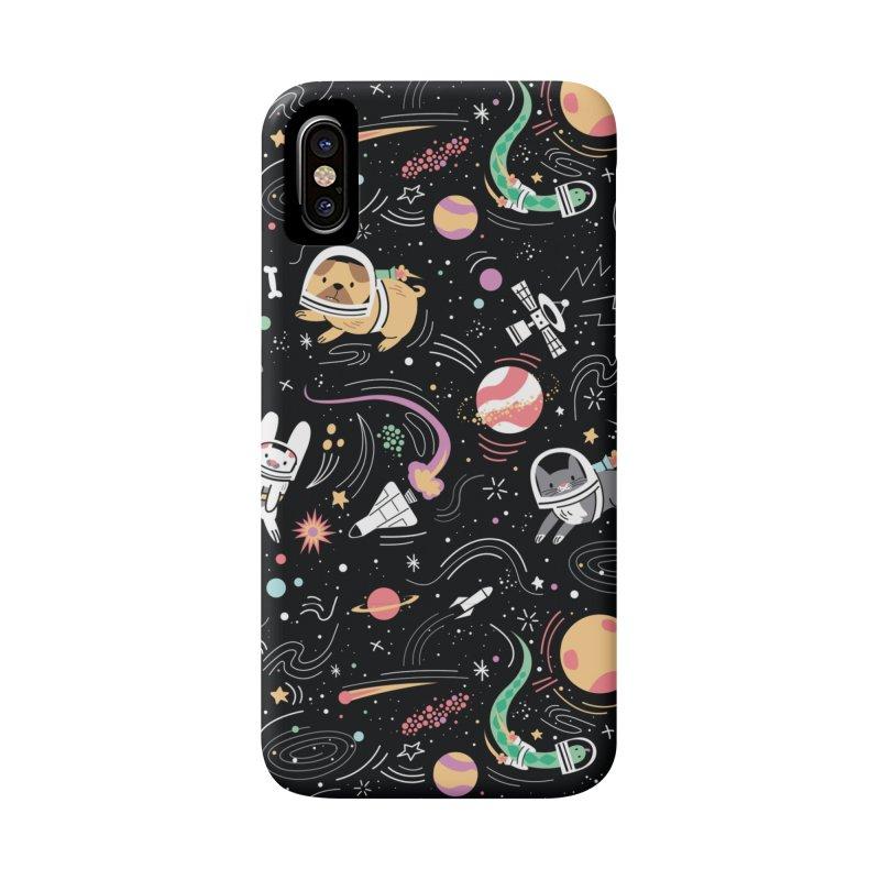 Space Pets Accessories Phone Case by danielstevens's Artist Shop