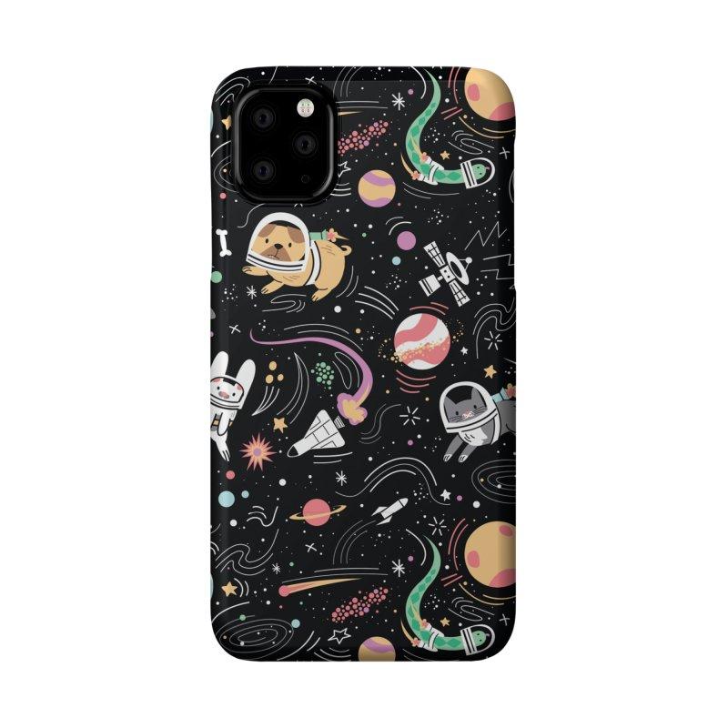 Space Pets Accessories Phone Case by Daniel Stevens's Artist Shop