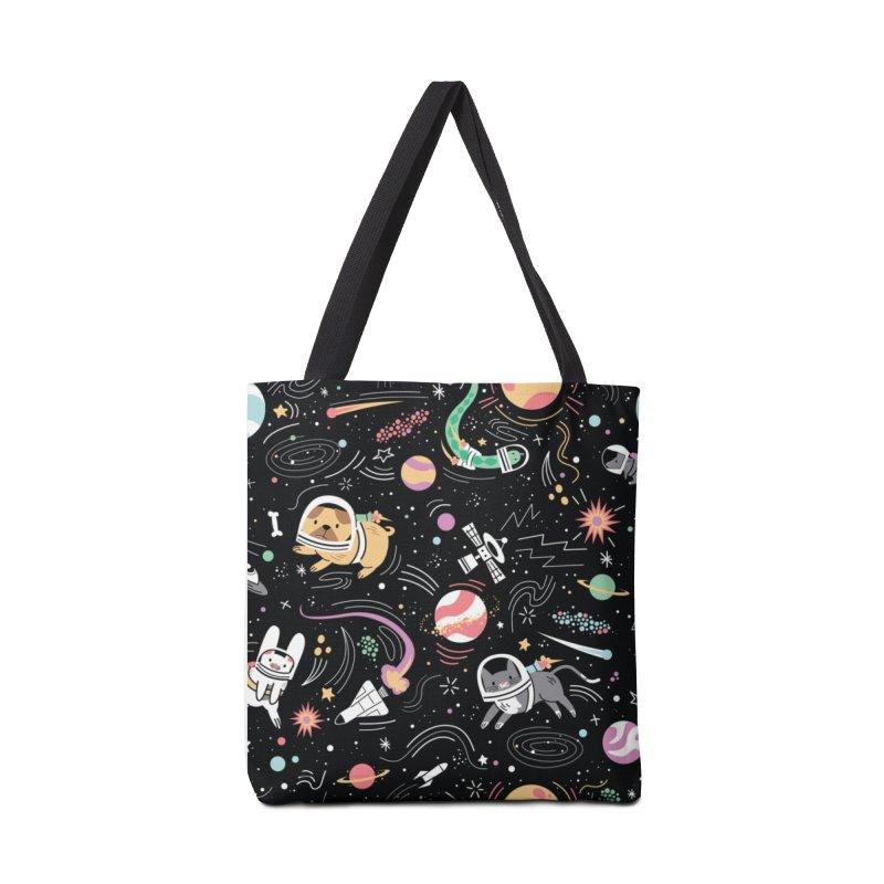 Space Pets Accessories Bag by Daniel Stevens's Artist Shop