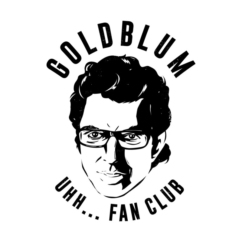 Goldblum fan club Men's Zip-Up Hoody by Daniel Stevens's Artist Shop