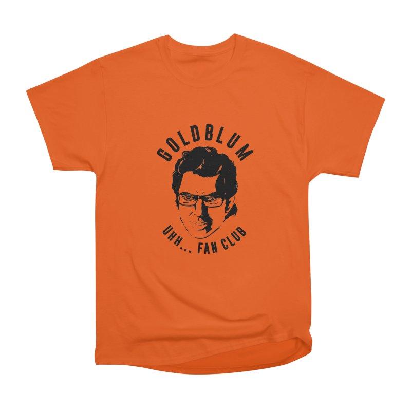 Goldblum fan club Men's Heavyweight T-Shirt by danielstevens's Artist Shop