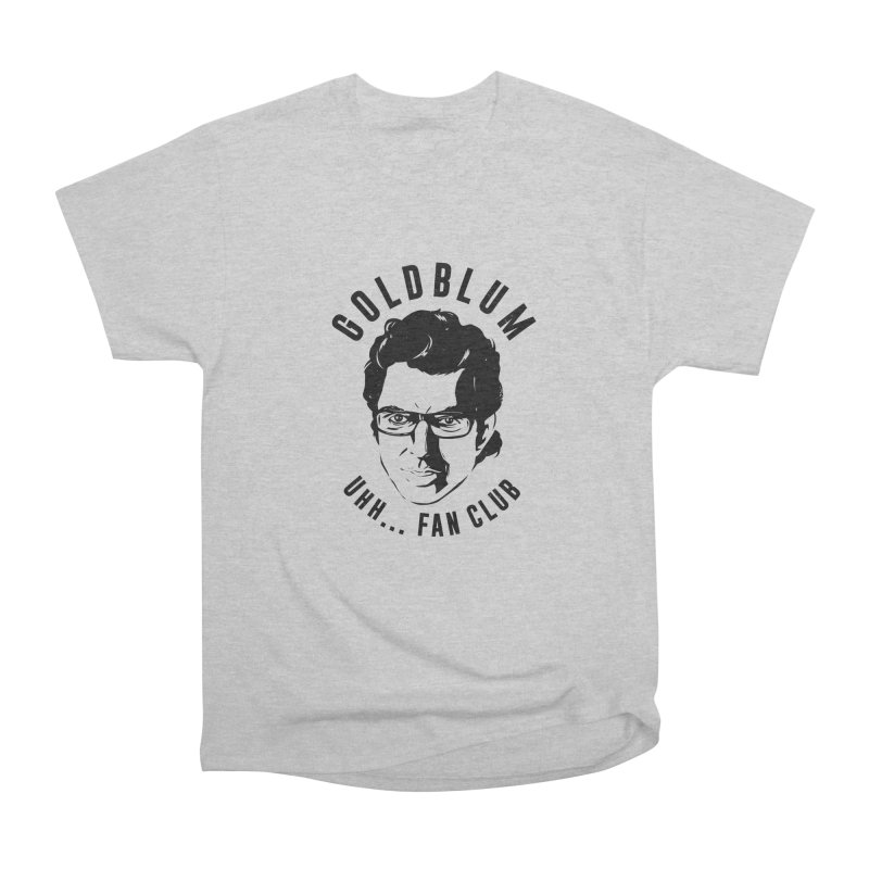 Goldblum fan club Men's Heavyweight T-Shirt by danielstevens's Artist Shop