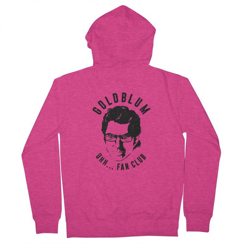 Goldblum fan club Women's Zip-Up Hoody by Daniel Stevens's Artist Shop