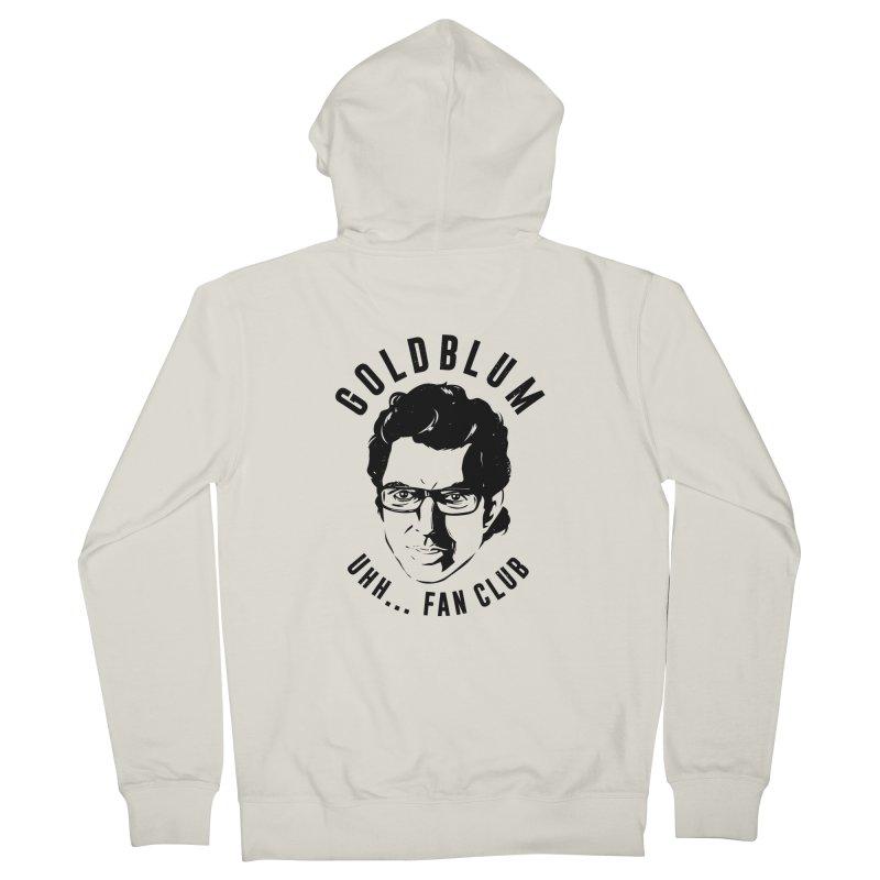 Goldblum fan club Women's French Terry Zip-Up Hoody by Daniel Stevens's Artist Shop