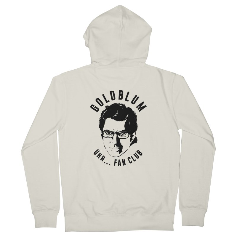 Goldblum fan club Men's French Terry Zip-Up Hoody by danielstevens's Artist Shop