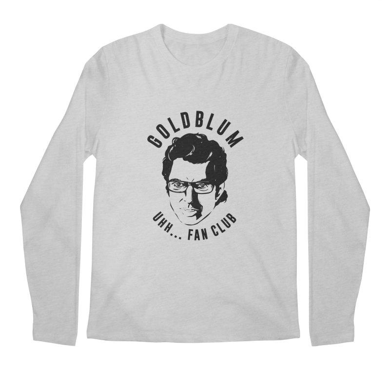 Goldblum fan club Men's Longsleeve T-Shirt by danielstevens's Artist Shop