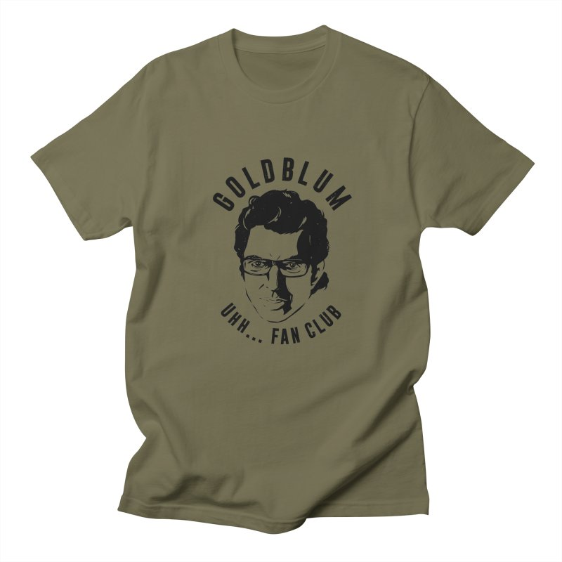 Goldblum fan club Women's Unisex T-Shirt by danielstevens's Artist Shop