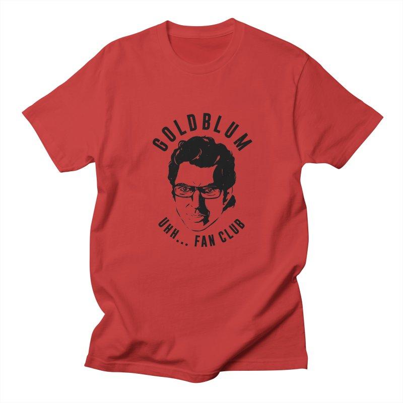 Goldblum fan club Men's Regular T-Shirt by danielstevens's Artist Shop