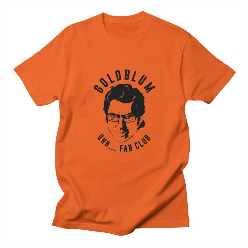 Goldblum fan club Women's Regular Unisex T-Shirt by danielstevens's Artist Shop