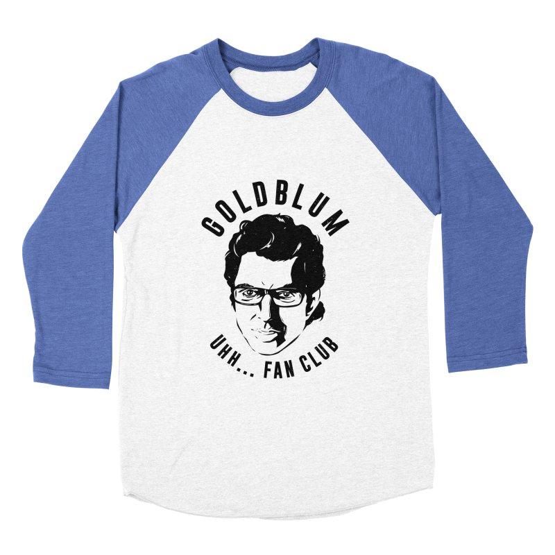 Goldblum fan club Women's Baseball Triblend T-Shirt by danielstevens's Artist Shop