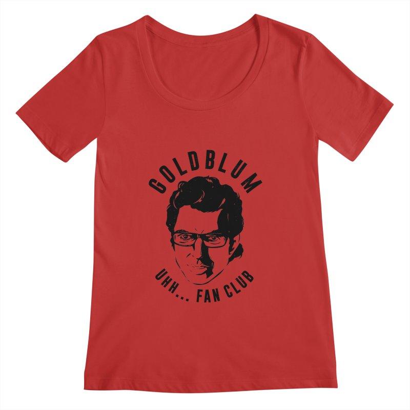Goldblum fan club Women's Regular Scoop Neck by Daniel Stevens's Artist Shop