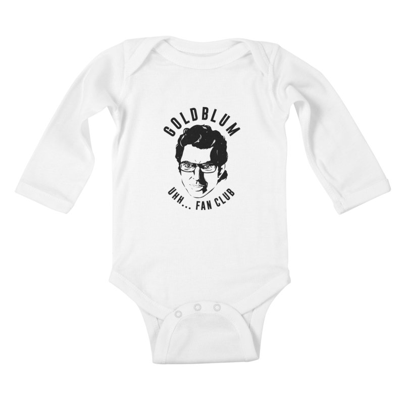 Goldblum fan club Kids Baby Longsleeve Bodysuit by danielstevens's Artist Shop