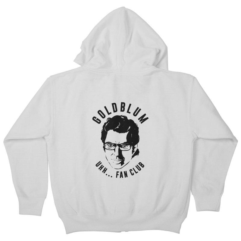 Goldblum fan club Kids Zip-Up Hoody by danielstevens's Artist Shop