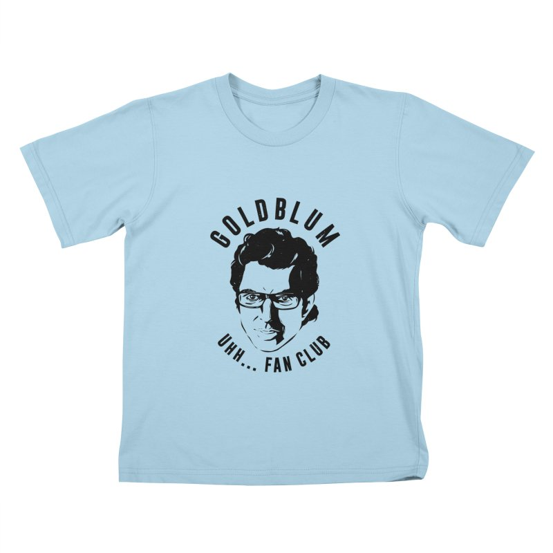 Goldblum fan club Kids T-Shirt by Daniel Stevens's Artist Shop