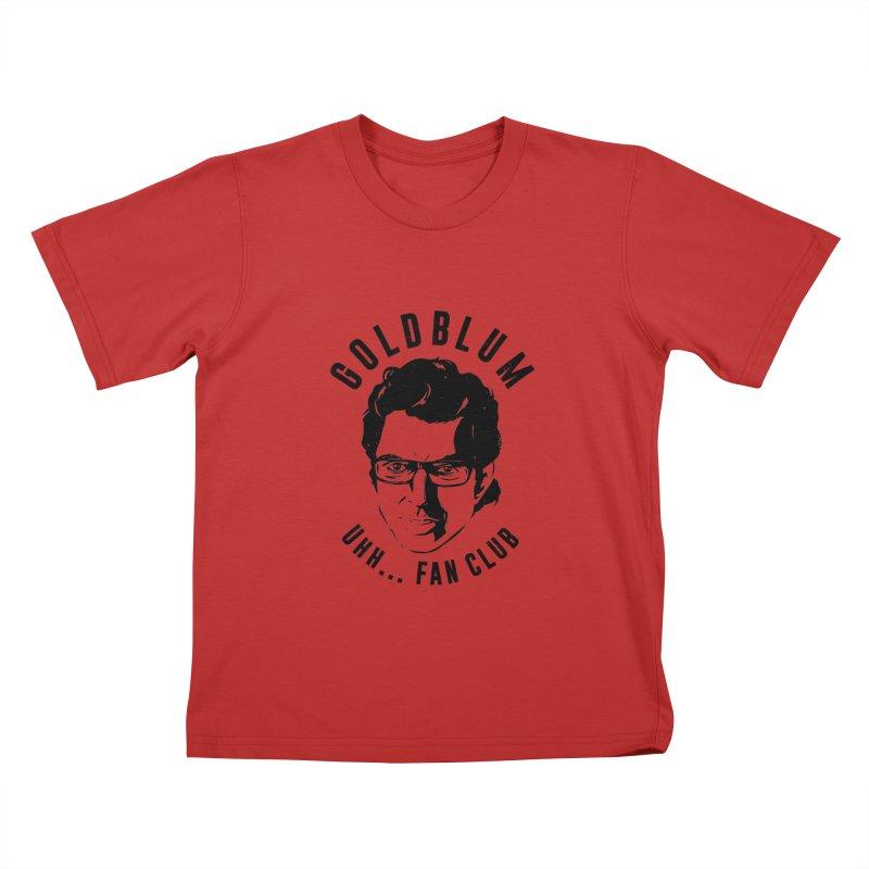 Goldblum fan club Kids T-Shirt by danielstevens's Artist Shop