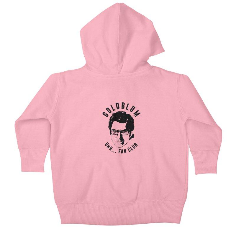 Goldblum fan club Kids Baby Zip-Up Hoody by danielstevens's Artist Shop